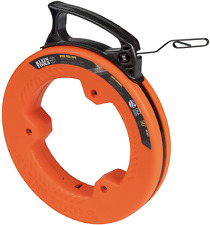 New Listingklein Tools 56331 Fish Tape Steel Wire Puller With Double Loop Tip Optimized H