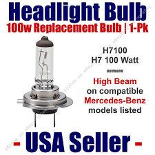 Headlight Bulb High Beam 100 Watt Upgrade 1pk Fits Select Mercedes-Benz - H7 100