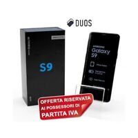"SAMSUNG GALAXY S9 DUOS 64GB LILAC 5,8"" DUAL SIM G960FD G960F PER P.IVA-"