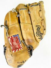 """Rawlings The Vise VBB12 12"""" Leather Baseball Glove Right Handed Thrower Clean"""