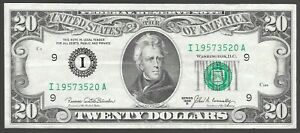1969-B  $20 MINNEAPOLIS FED  ONLY 2,560,000 ISSUED  VERY FINE+  L@@K NR