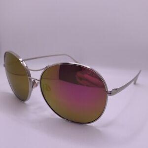 Maui Jim Opihi Sunglasses MJ547-17 Silver Frame with Custom Maui Pink Lenses