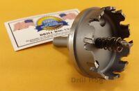 "Drill Hog USA 2"" Tungsten Carbide Tipped Hole Cutter 2"" Holesaw 2"" Forstner Bit"