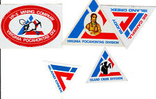 COAL  COMPANY  MINE STICKERS   F51