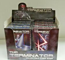 The Terminator Ccg Starter Game Card Box 6 Theme Decks Whole Box Collectible