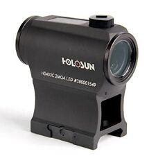 Holosun Rotpunktvisier HS403C mit Punktabsehen