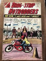 Charlton Drag-Strip Hotrodders Vol. 1, No 13 Comic Book