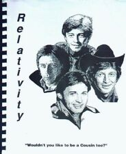 "Remington Steele Scarecrow Mrs King Fanzine ""Relativity 1,2,3,4,6,7"" GEN WKRP"
