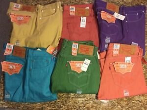 Levi's501blue,Green,red,orange42/30,40/30,36/32,30,34/36,34,32,30,33/30,32/32new
