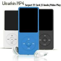 Playback MP3 MP4 Lossless Sound Music Player 70 Hours Card Recorder F NEW