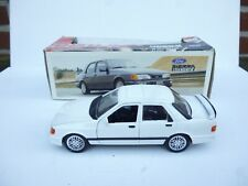 1:25 SCHABAK FORD SIERRA COSWORTH IN WHITE  IN BOX  V GOOD CONDITION