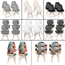 Juego de 4 Sillas Comedor Estilo Retro Eiffel sillón taburete silla de oficina de pierna de madera