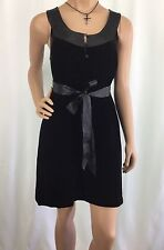 Joie California Black Sleeveless Dress Womens Size M See Tag Photos NWT