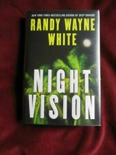 Randy Wayne White - NIGHT VISION - 1st - SIGNED