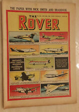 1952 THE ROVER, No.1431,  BRITAIN'S LATEST FIGHTERS BOMBERS & PASSENGER LINERS