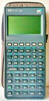 HP 48G Graphing Calculator Hewlett Packard 32K RAM Case Included Works 100%