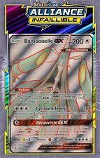 Bamboiselle GX-SL10:Alliance Infaillible- 208/214 -Carte Pokemon Neuve Française
