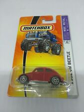 2005 MATCHBOX 1/64 SCALE DIE CAST BODY 1962 VOLKSWAGEN BEETLE #21 MBX METAL