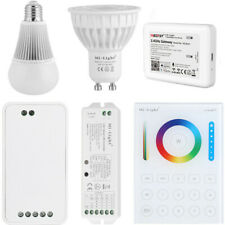 Milight 2.4G WLan WIFI GU10 E14 E27 RGB CCT RGBW LED Glühbirne Birne Spot Lampe