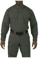 5.11 Men's Stryke Tall Long Sleeve TDU Shirt, TDU Green, XL/Tall