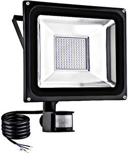 30W PIR Motion Sensor LED Flood Light Outdoor Security Waterproof Lamp Combine