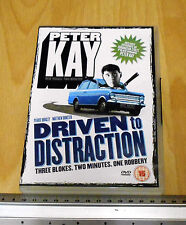 Peter Kay Driven To Distraction UK Region DVD