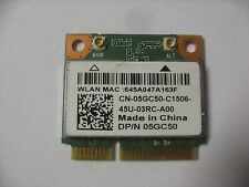 Dell Inspiro 17 3721 3521 Mini PCIE Half Height 5GC50 WLAN 802.11n Wireless Card