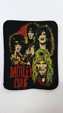 Motley Crue band patch Sew On RARE metal music logo glamrock vintage aufnaher