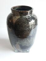 Grès du puisaye - Vase signé au tampon DB (Deblander?) - ca 1970