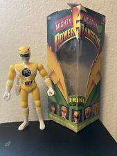 Mighty Morphin Power Rangers Yellow Ranger, Trini, 1993 Bandai Action Figure, wi