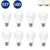 8x E27 LED Leuchtmittel 5w 9w 15w GlühBirne Birne LED Lampe warmweiß kaltweiß