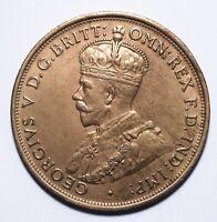 1914 Australia One 1 Penny - George V (Key Date / High Grade) - Lot 151
