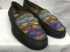 Cable & Co. Mens 9D Black Suede Luxary Loafers