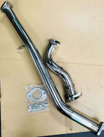 POWER EXHAUST FRONT PIPE + OVER PIPE FOR SUBARU BRZ 2.0L TOYOTA 86 GT86 FT86