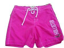 Hollister Mens Medium Pink Swim Trunks