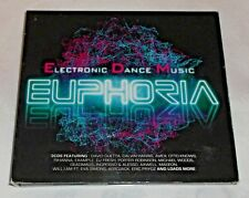 EUPHORIA - ELECTRONIC DANCE MUSIC EMD 3 x CD ALBUM SET NEW - MINISTRY OF SOUND