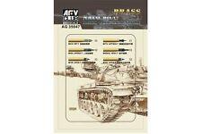 AFV Club AG35047 1/35 M68/L7 105mm Ammunition Model kit