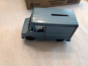 Vintage Diecast Delivery Van Bank