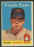 1958 Topps #229 Frank Zupo EXMT/EXMT+ RC Rookie Orioles 23995