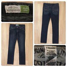"Aeropostale Bayla Jeans Size 0 Studs Skinny Jeans Inseam 32"""
