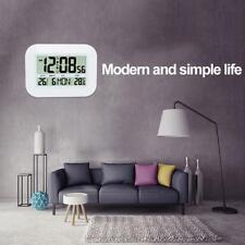 LCD Large-screen Digital Electronic Calendar Simple Living Room Mute Wall Clock