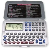 Personal Electronic Organizer 32KB Memory Light weight &Compact 122 x 72 x 8mm