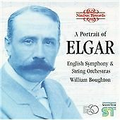 William Boughton & English Symphony Orchestra -A Portrait of Elgar 4 X CD Nimbus