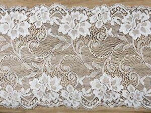 Tischläufer Spitze Vintage 18cm breit Hochzeit Tischband Dekostoff Rolle