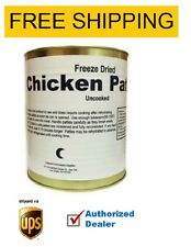 MRE- Un-cooked Freeze Dried Chicken Patties- Brand New , 1 CAN , FREE SHIPPING
