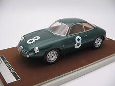 1/18 scale Tecnomodel Alfa Romeo Giulietta SZ Targa Florio 1960 - TM18-42C