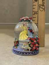 Disney's Beauty and the Beast Mini Snow Globe - Belle on a swing