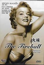 The Fireball DVD Mickey Rooney Marilyn Monroe NEW R0 B&W Classic RARE 1950