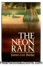 The Neon Rain by James Lee Burke FIRST UK- Signed