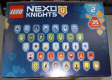 LEGO Nexo Knights 70373 - alle 35 Combo Nexo Kräfte / Schilde Wave 2 - Powers